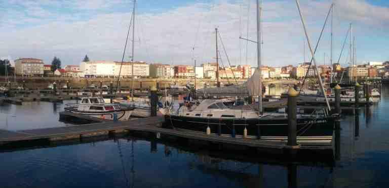 Het haventje van Muxia.